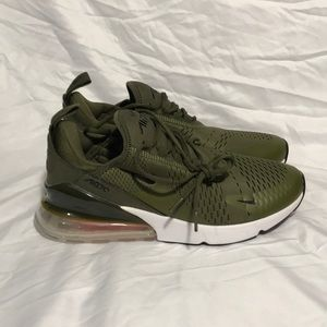 Nike Air Max 270 Olive Green Men Size 11